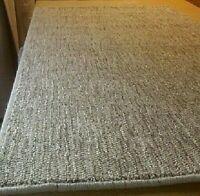WOOL HAND WOVEN ECO FRIENDLY RUG/CARPET MAT 100cm x 190cm  Retail £280