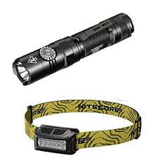 NITECORE EC22 -1000 Lumens LED Flashlight -CREE XP-L HD V6 LED w/NU10 Headlamp