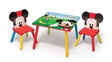 Delta Children Disney - Set tavolo con 2 sedie per Bambini Mickey Mouse (k9w)