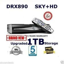 SKY PLUS + HD BOX - 1TB - SKY AMSTRAD DRX890 RF 1 AND 2 OUTPUTS