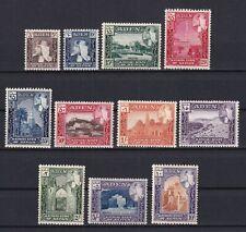 ADEN 1954, SG# 29-38, CV £27, Sultan Hussein, MH/MNH
