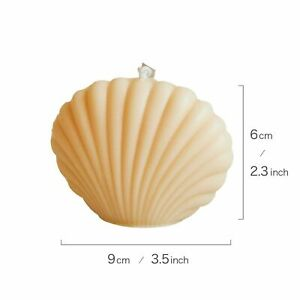 Shell Candle Home Decoration Background Birthday Decoration Soy Wax Scented