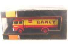 1 43 IXO UNIC Fiat 619 Cirque Rancy 1979 Red/yellow