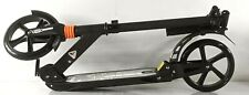 WeSkate Foldable Adjustable Aluminum Scooter for Adults in Black *Open Box*