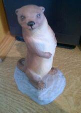 Aynsley Porcelain China Otter Figure 1975