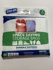 Stor-All Space Saving Storage Bags XL 2 bags 20.5x17 inches