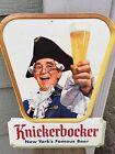 KNICKERBOCKER BEER 1955 NEW YORK VINTAGE BAR SIGN - JACOB RUPPERT