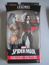 MARVEL SPIDER-MAN LEGENDS SERIES VILLAINS OF THE NIGHT