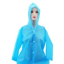 Boys Girls Waterproof Jacket Hooded Raincoat Long Rain Coat Poncho Rainwear Jian