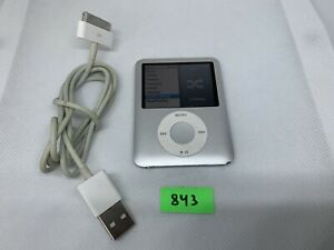 Apple iPod nano 3rd Generation Silver (4GB) AJ843