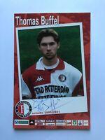 Autogramm THOMAS BUFFEL-Feyenoord Rotterdam 00/01-NS BELGIEN-Ex-Gl.Rangers-AK