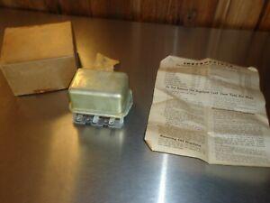 New NORS Voltage Regulator 1940 1941 1942 Chrysler Desoto Dodge Nash Packard