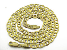 10KT Yellow Gold Solid Mariner  Chain 26 Inches approx. gold wt. 20.54 Grams