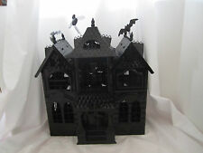 Yankee Candle 2013 Boney Bunch Haunted House Mansion Tea Light Holder NEW