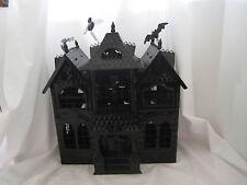 Yankee Candle 2013 Boney Bunch Haunted House Mansion Tea Light Holder NEW