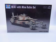LOT 6221 | Trumpeter 07278 M1A1 with Mine Roller Set 1:72 ungebaut in OVP
