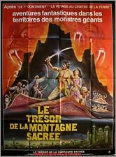 LE TRESOR DE LA MONTAGNE SACREE Arabian Adventure Movie Poster / Affiche Cinéma