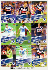 2013-14 Select A League Soccer Card Base Team Set Melbourne Victory (10)