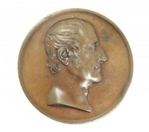 England 1829 Memorial Medal for Earl of Bridgewater Donadio Bronze Medal