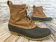 """LL BEAN 8"""" Unlined Bean Boots Winter Snow Women's 11 M"""