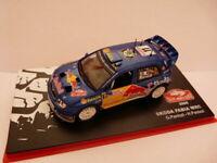 RMC14M 1/43 IXO altaya MONTE CARLO : SKODA FABIA WRC 2006 Red Bull Panizzi