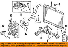 honda genuine oem thermostats & parts for acura tl ebay ezgo engine diagram honda oem engine coolant thermostat housing 19410rdja01