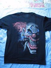 "T-Shirt, XL, ? ,"" CRAZED CLOWN "" Kustom Industry ,Limited, -NEW"