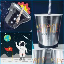 Space Adventure Tableware Party Pack for 6 guests, space party kit, boys party