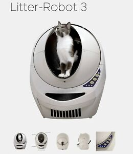 Litter Robot Litter Box 3, Perfect Condition, Tan comes with extras