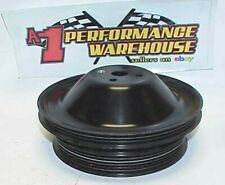 Billet Aluminum Water Pump Serpentine Belt 3 Amp 6 Groove Pulley Nascar Jr2