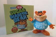 "Ron English Cereal Killer Sugar Diabetic Bear 8"" Vinyl Figure Popaganda"