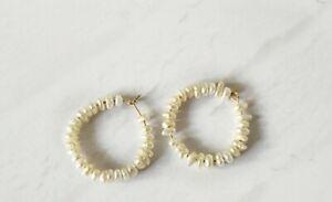Seed Pearl Hoop Earrings Hoops Other Bloggers Stories