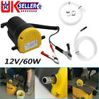 Electric Car Diesel Engine Oil Change Transfer Extractor Suction Syphon Pump 12v