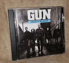 GUN cd TAKING ON THE WORLD free US shipping