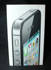 Apple iPhone 4S BOX ONLY Tray Manual 16GB Black NO PHONE NO PHONE BOX ONLY