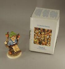 "New ListingOriginal Vintage Hummel Goebel Herbst Apple Tree Boy 4"" Tall Mint In Box"