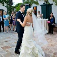 Wedding Veils White Ivory Dropveil Hip Length Bridal Hair Accessories Horsehem