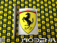 Official Emblem Ferrari Cavallino Aufkleber Decal Logo Badge Resin 3D 10cm