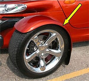 PAINTED Plymouth Prowler 1997-2002 Fender Replacement 4897744/45AB-P
