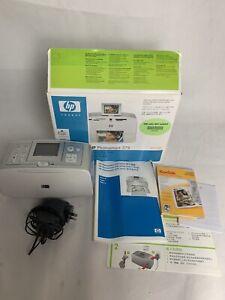 HP Photosmart Portable 375 Printer Incl Photo Paper, Instructions, Box