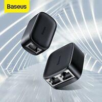 Baseus Y Netzwerk Verteiler Adapter CAT6 LAN Kabel RJ45 1 bis 2 Dual Port