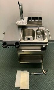 Char-Broil Commercial Series Mobile Sink/ Toppings/ Beer Dispenser