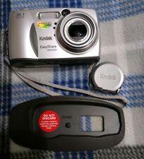 Kodak Easyshare Digital Camera DX4330 w/ Printer Plate Tested Working Free SH