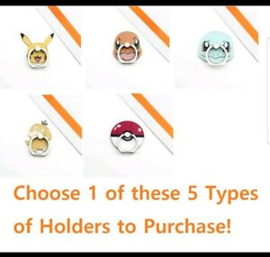 Pokemon Cell Phone Finger Ring Holder Grip Stand (Universal 360 Degree Bracket)