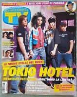 AL107 MAGAZINE SORRISI CANZONI 13 2008 TOKIO HOTEL GRIGNANI FOLLIERO VALE IZUMI