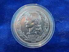 """TRESOR DU PATRIMOINE"" - MEDAILLE / Medal - EUROPE / Europa - ECU 1988 (BU)"
