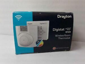 Drayton RF601 RF Wireless Room Thermostat with Digital Display + receiver