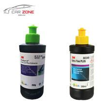 3M Extra Fine Plus 250 ml Liquide de lustrage + Fast Cut Plus Extreme 250 g NEW!