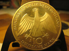 1972 GERMANY OLYMPIC 10 MARK SILVER UNCIRCULATED HIGH GRADE COIN