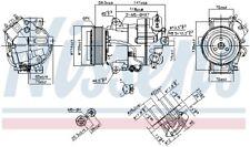 Kompressor Klimaanlage NISSENS 890267 für OPEL ZAFIRA TOURER P12 ASTRA Caravan